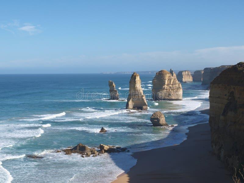 Twelve Apostles Great Ocean Road stock image
