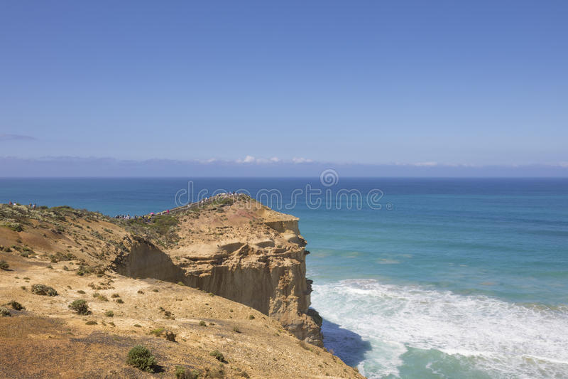 The Twelve Apostles lookout point, Great Ocean Road royalty free stock photos