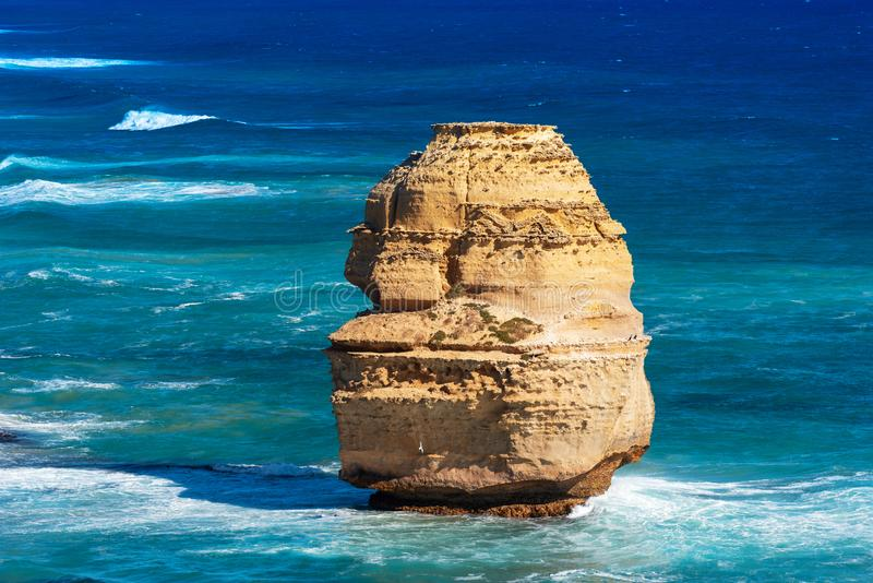Twelve Apostles Marine National Park, Victoria, Australia. Copy space for text.  stock images