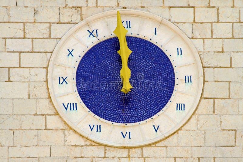 Twelve o clock royalty free stock photo