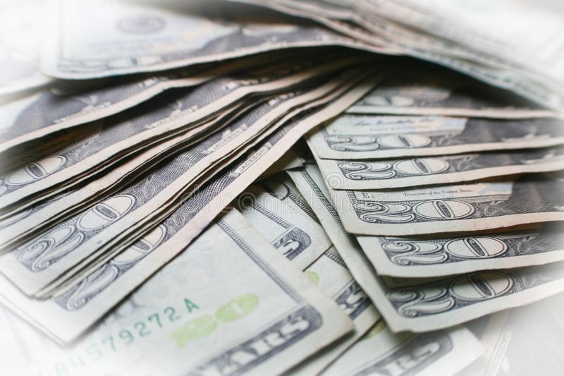 Twenties Close Up Representing Financial Freedom High Quality royalty free stock photography