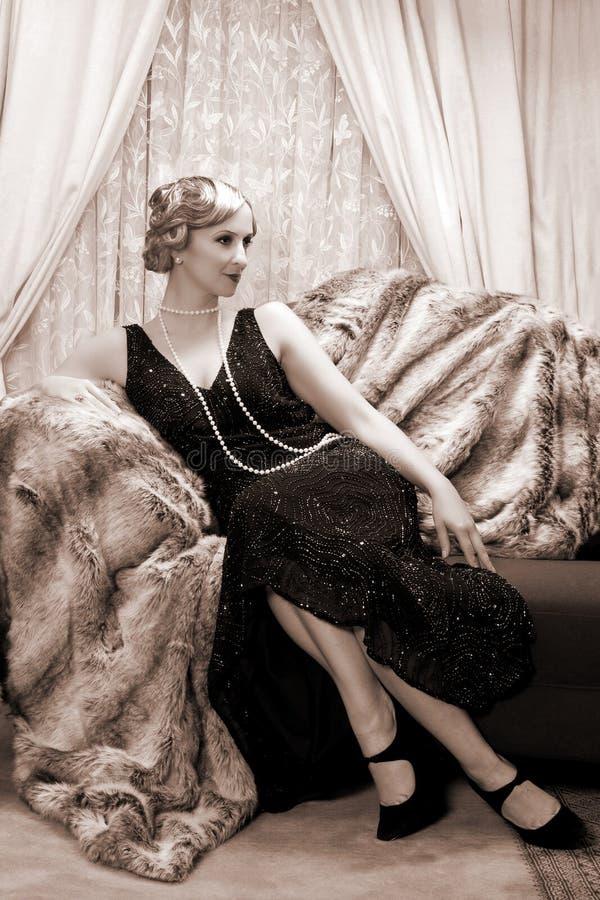 Free Twenties Lady Stock Photography - 28770982