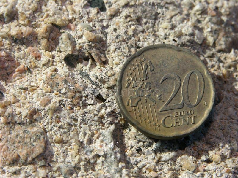 Twenty cents royalty free stock image