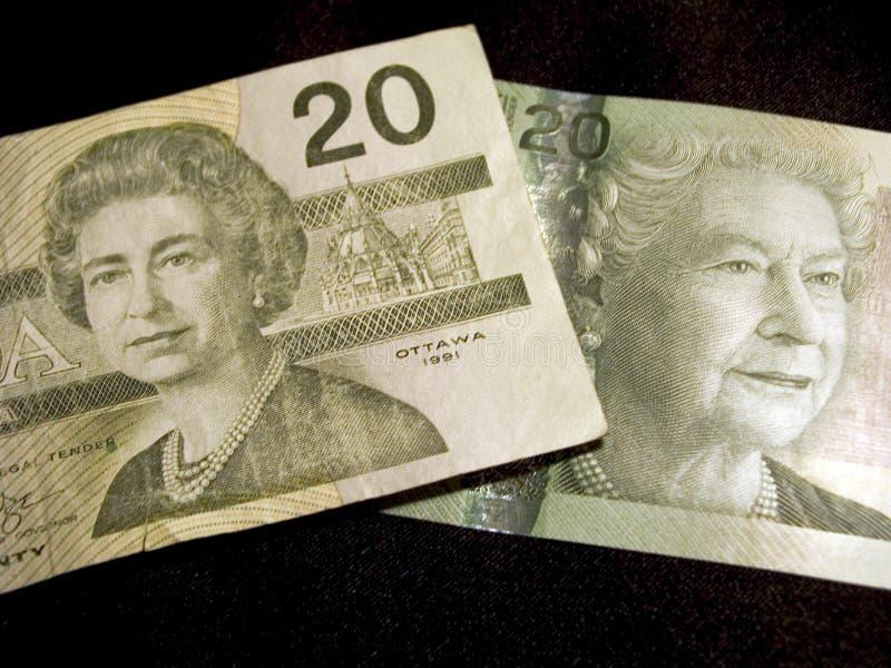 Download Twenty Dollar Banknotes (Canadian) Stock Photo - Image: 169664