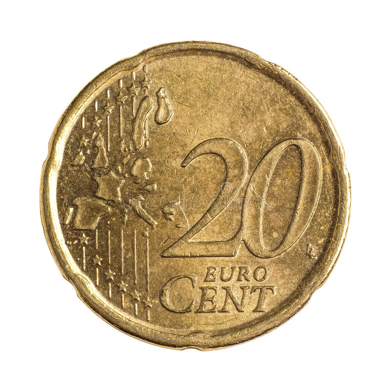 Download Twenty euro cents stock image. Image of coin, background - 36702955
