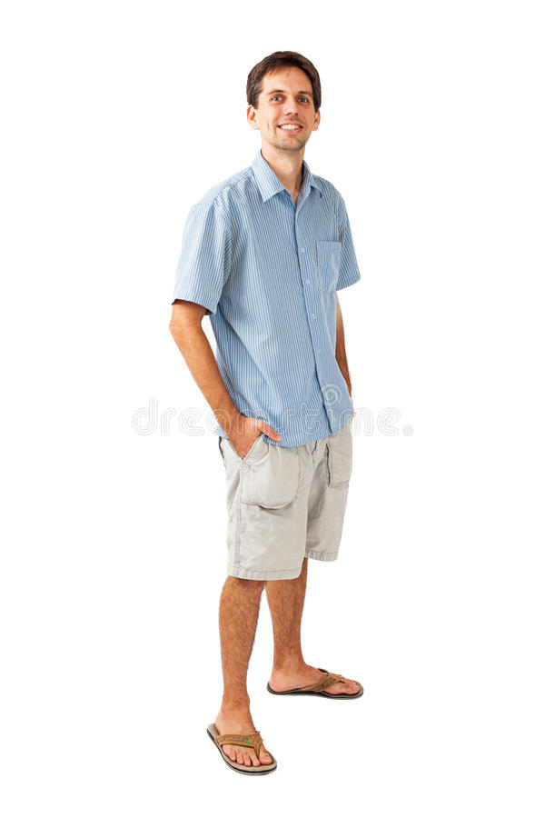 twenty five year old man in casual clothes stock image White Button Shirt Clip Art Button Vectors Website