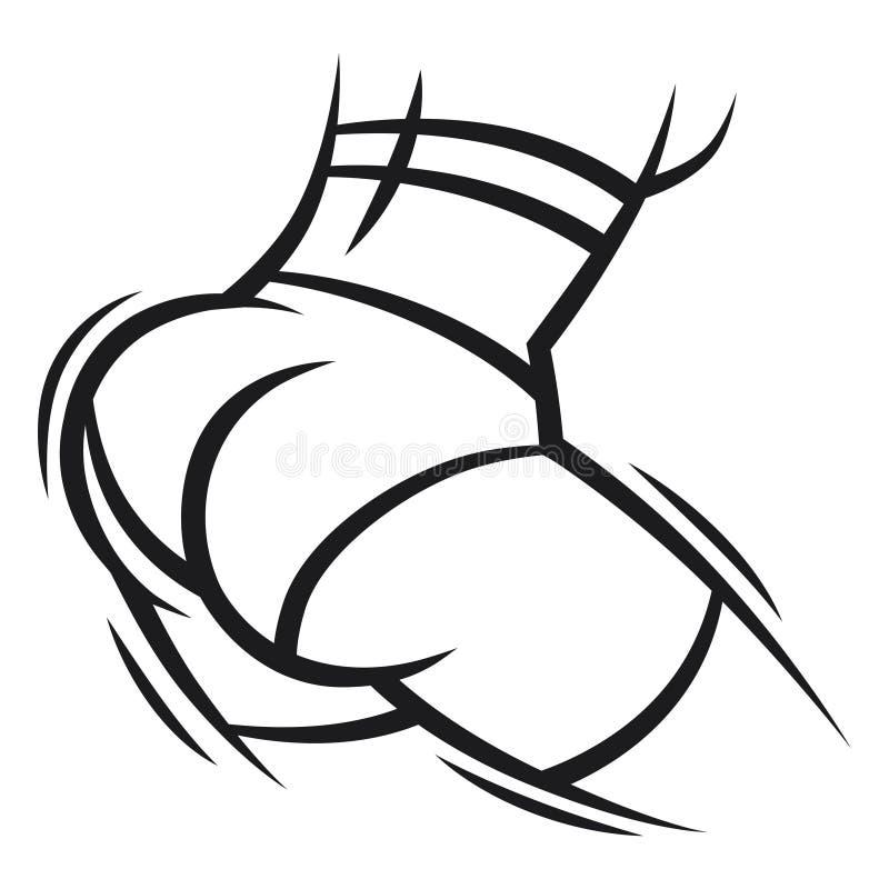 Download Twerk Et Illustration De Danse De Butin Pour La Danse Illustration de Vecteur - Illustration du concept, flayer: 56485461