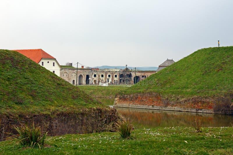 Twierdza Brod, Slavonski Brod zdjęcie royalty free
