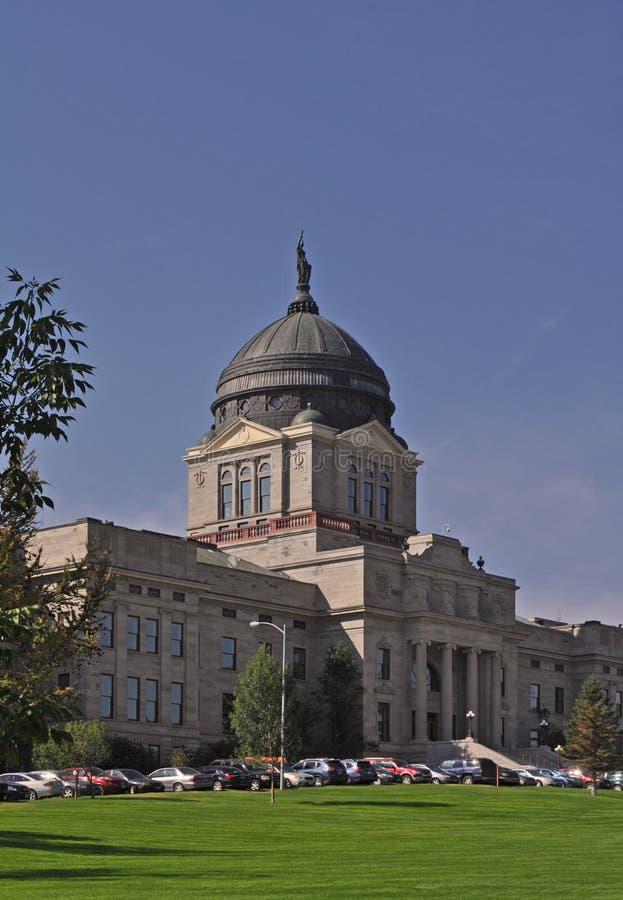 Twierdzi capitol kompleks w Helena, Montana stan fotografia stock