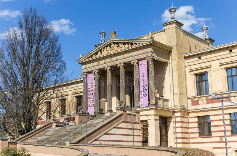 Twierdzi muzeum w historycznym centrum Schwerin obrazy stock