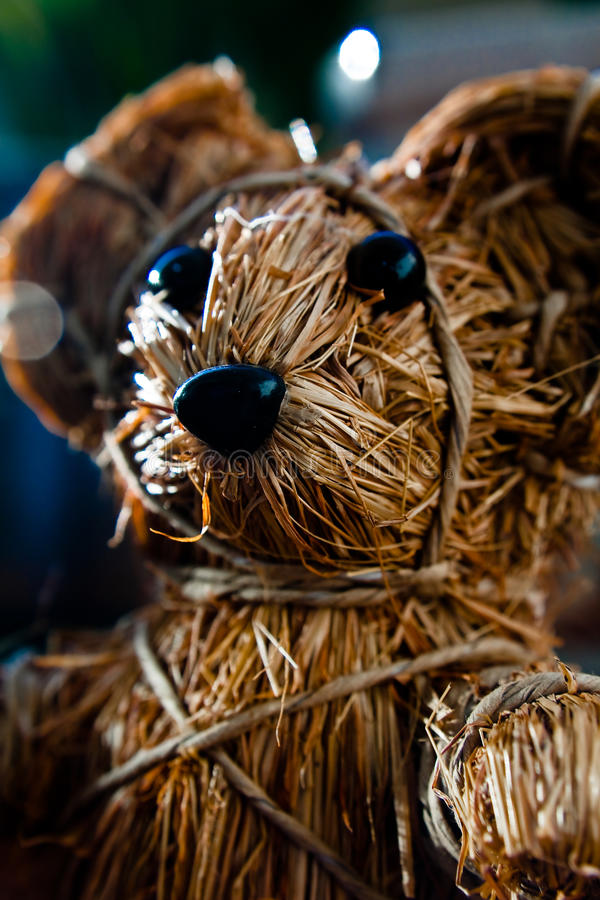 Twig bear stock images