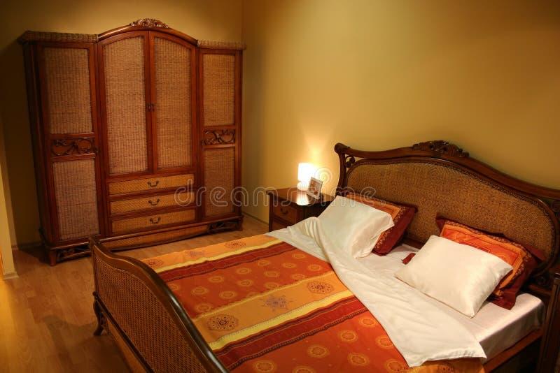 twiggen спальни стоковое изображение