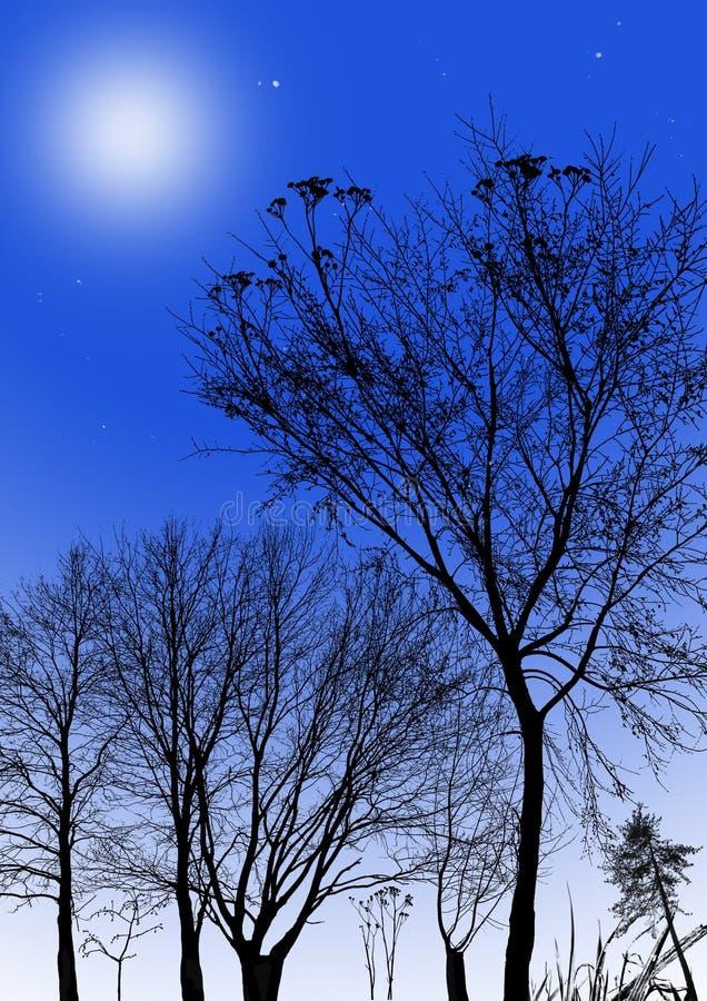 Twilight сцена стоковые фото