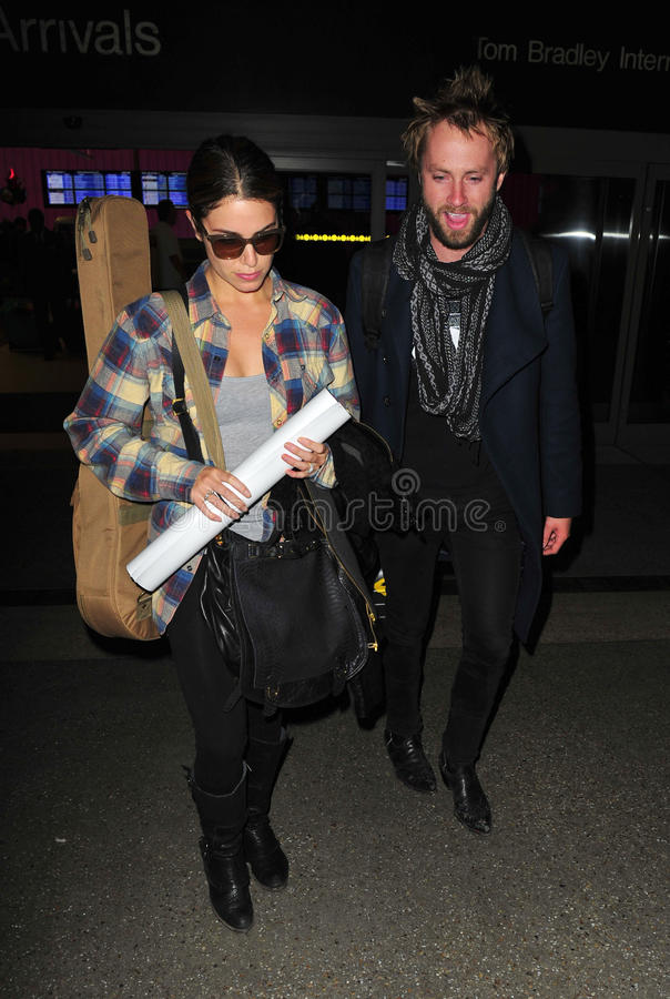 Download Twilight Actress Nikki Reed At LAX With Husband Editorial Photography - Image: 22952802