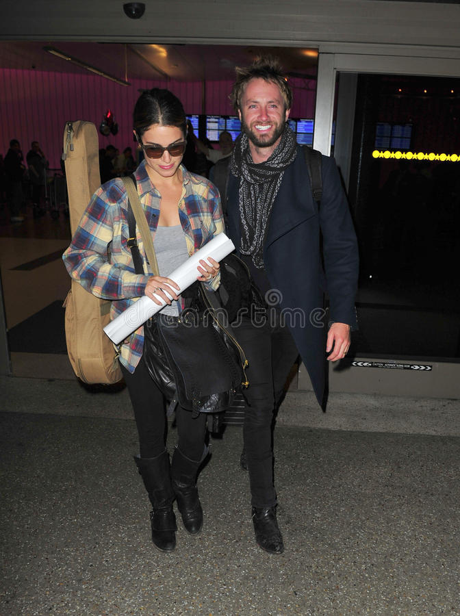 Download Twilight Actress Nikki Reed At LAX With Husband Editorial Stock Photo - Image: 22952813