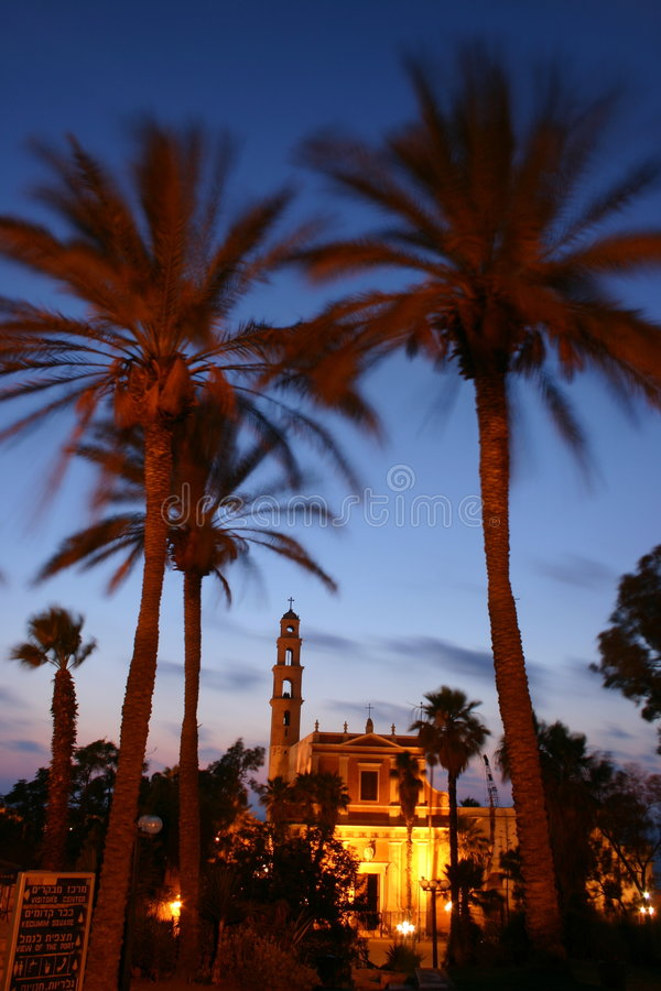 Free Twilight In Jaffa Stock Photos - 1360183