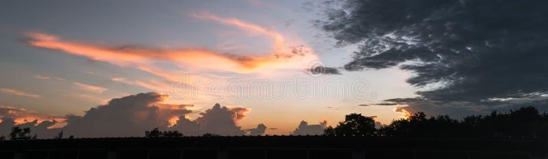 Twilight light sky stock images