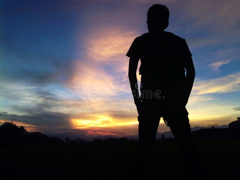 Twilight stock photography