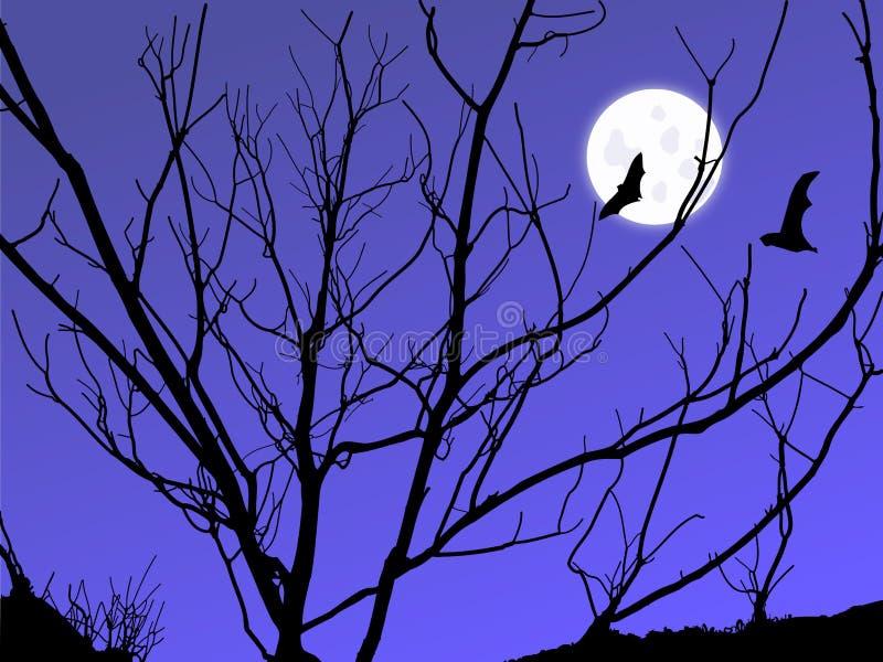 Download Twilight Moon stock illustration. Illustration of mystery - 13497351