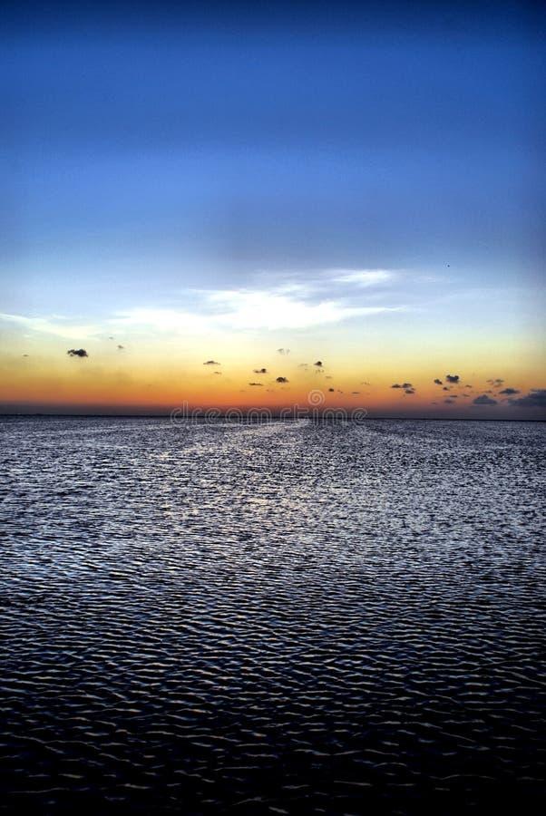 Download Twilight over the bay stock image. Image of twilight, island - 5368317