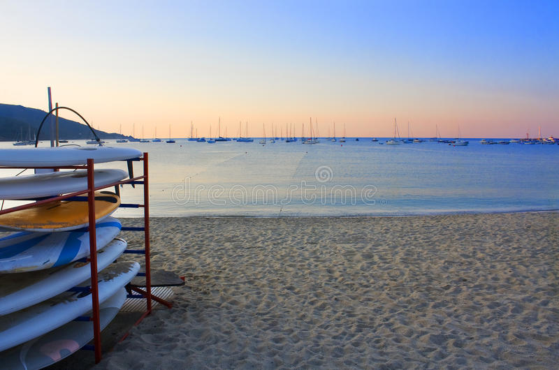 Download Twilight on the sea stock photo. Image of serenity, calm - 10619406