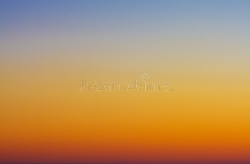 Twilight Sky. A background of sky lit in beautiful twilight colors