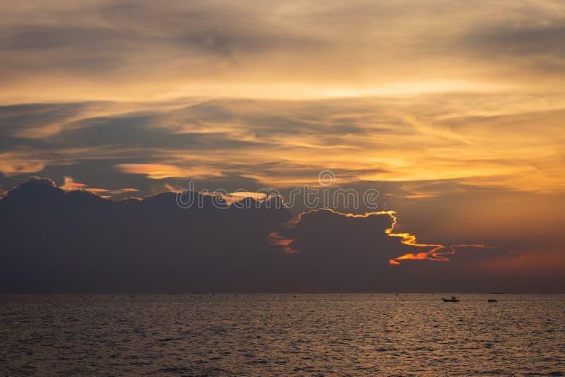 Twilight sky background. Colorful Sunset sky and cloud.vivid sky in twilight time background.Fiery orange sunset sky. royalty free stock photo