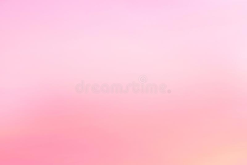Twilight sky with effect of light pastel tone. Colorful sunset of soft clouds royalty free stock image