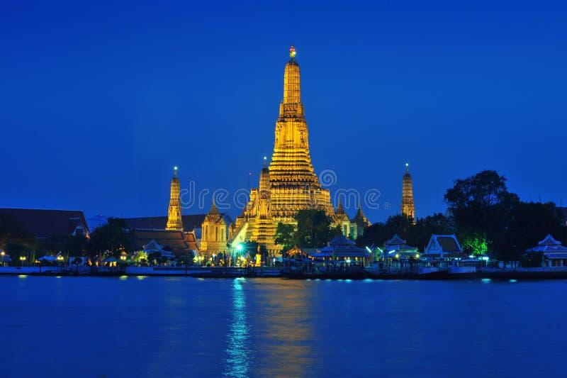 Download Wat Arun Across Chao Phraya River During Twilight Stock Photo - Image: 29716368