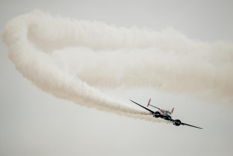 Twin Beach 18 Stunt Plane royalty free stock images