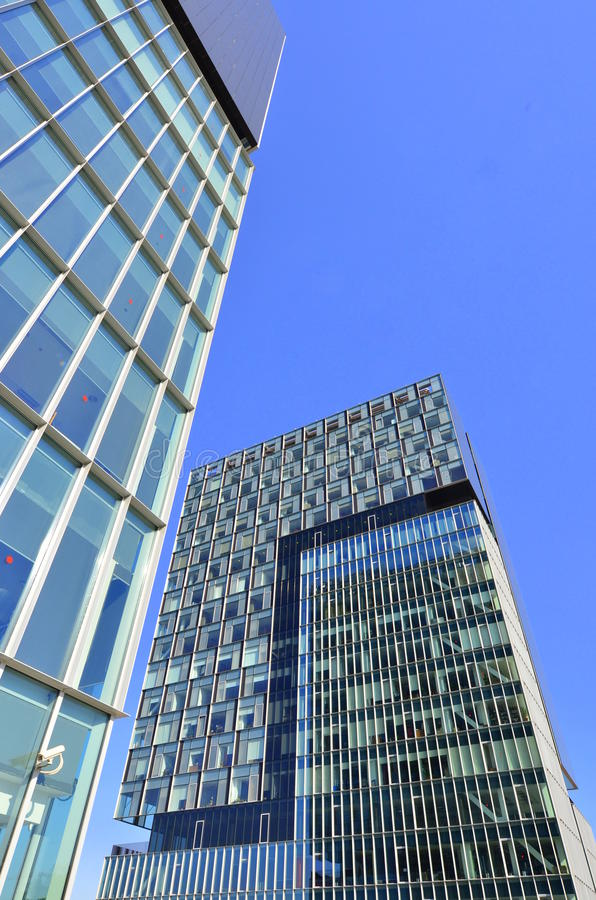 Download Twin Business Towers - Architectural Composition Stock Photo - Image: 20022830