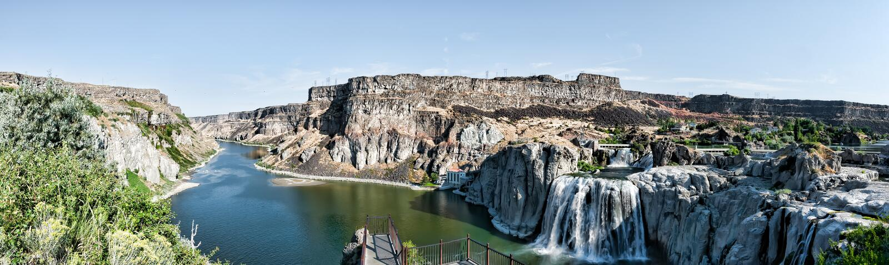 Twin Falls Idaho photographie stock