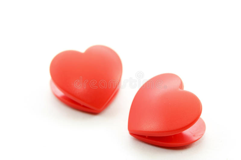 Download Twin Heart On White Background Stock Image - Image: 28748955