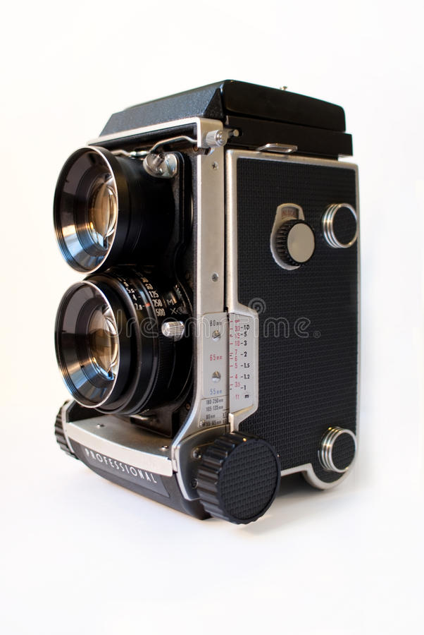 Twin lens camera royalty free stock photos