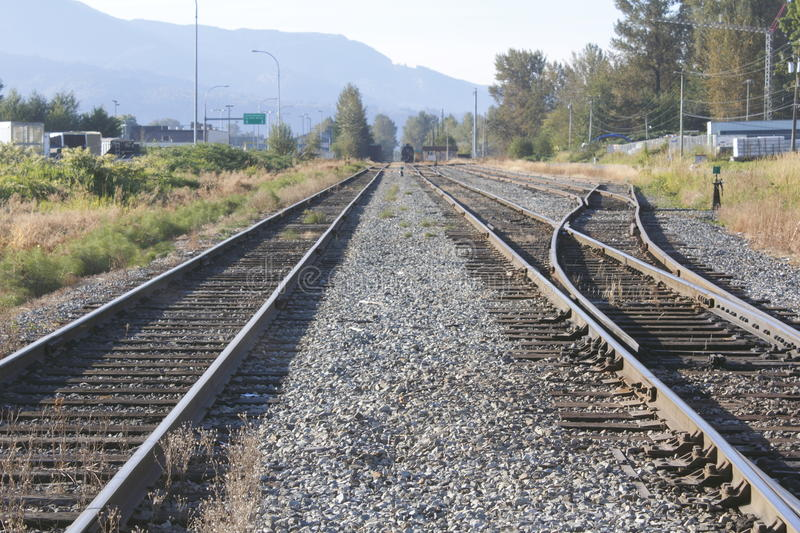 Download Twin Railway Tracks Stock Images - Image: 26651784
