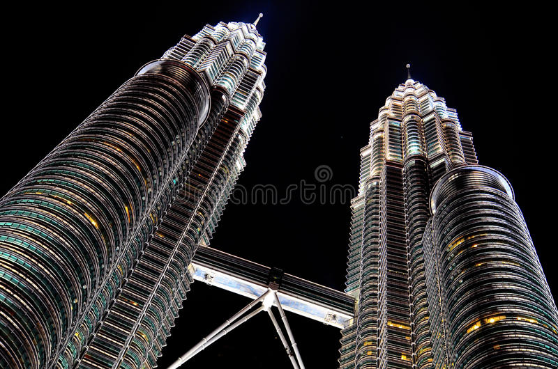 Download Twin Tower stock image. Image of exterior, modern, business - 24400327