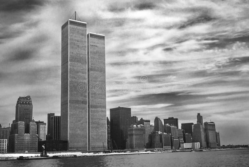 Twin Tower New York stockfoto