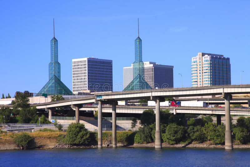 Download Twin Towers Convention Center, Portland OR. Stock Images - Image: 15212784