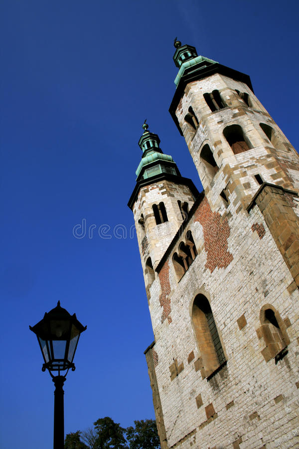 Download Twin Towers In Krakow, Poland Stock Image - Image: 10869445