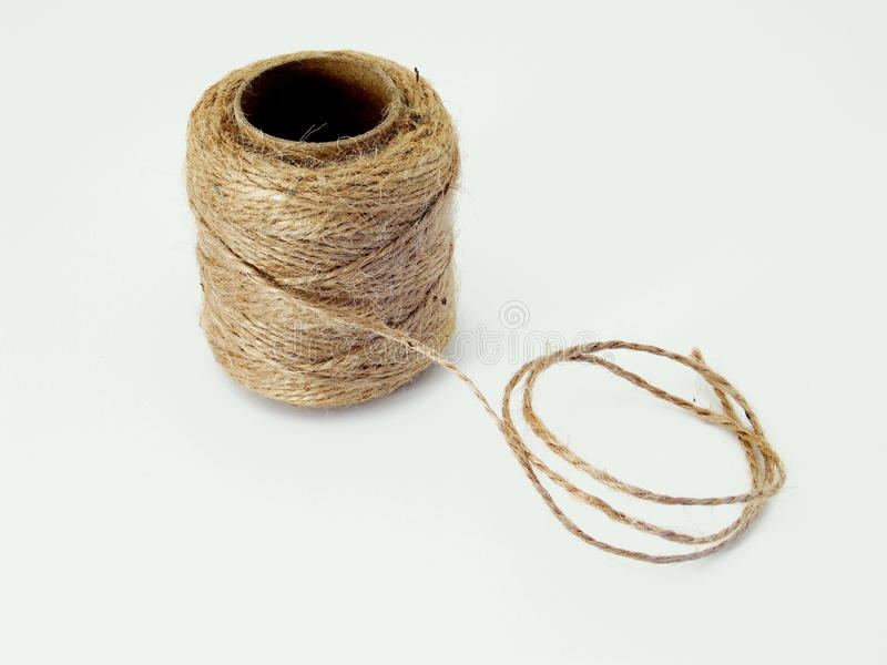 Twine unravelling royalty free stock photos