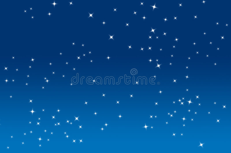 Twinkle Stars vector illustration