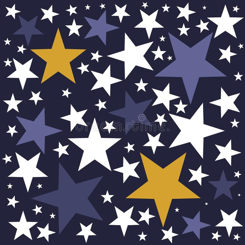 twinkle twinkle little star background stock illustration
