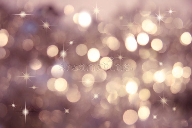 Twinkle, twinkle little stars. Abstract background of holiday lights royalty free stock photography