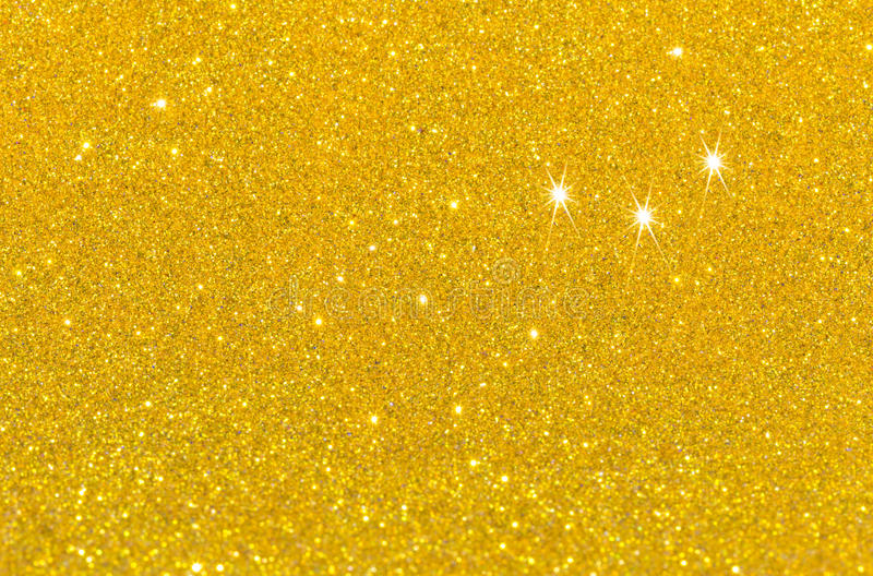 Twinkly golden L stock photo