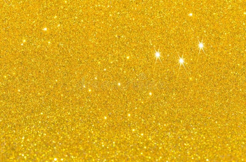 Twinkly gouden L stock foto
