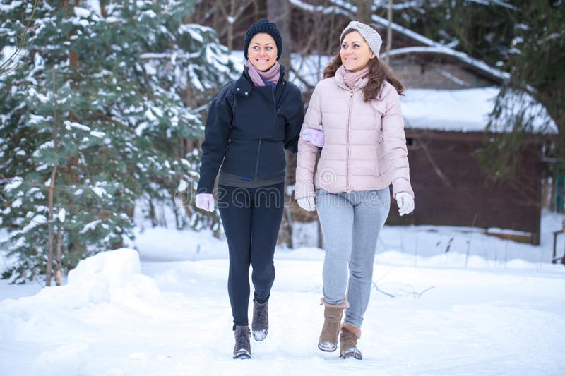 Download Twins Walking In Countryside. Stock Photo - Image of fashion, caucasian: 83721516