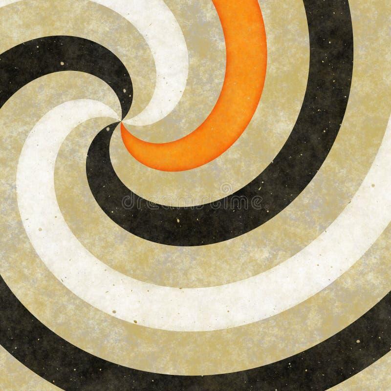 twirl ανασκόπησης διανυσματική απεικόνιση