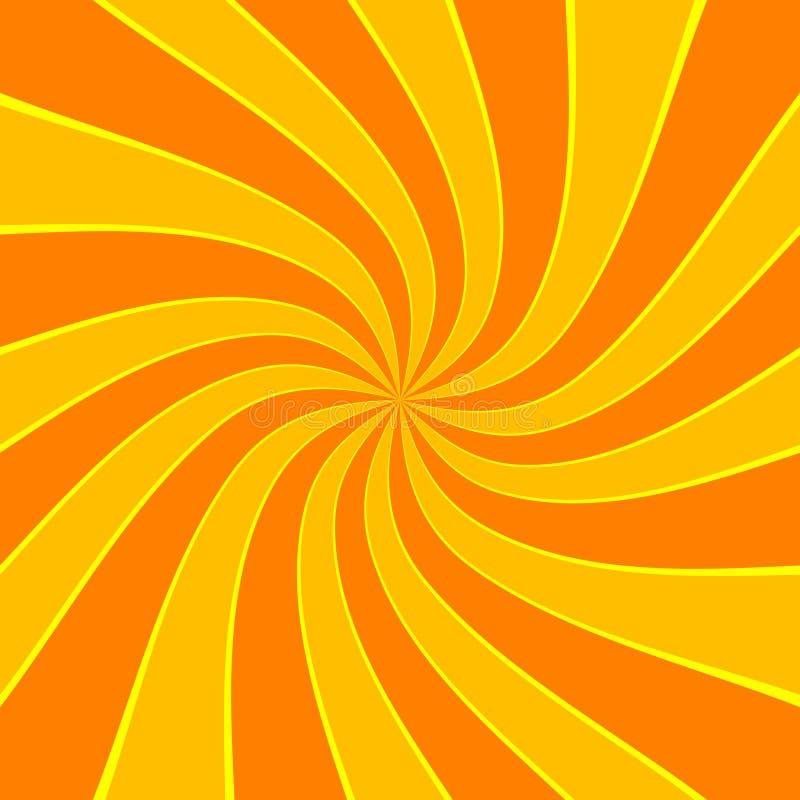 Twirl ανασκόπηση έκρηξης ελεύθερη απεικόνιση δικαιώματος