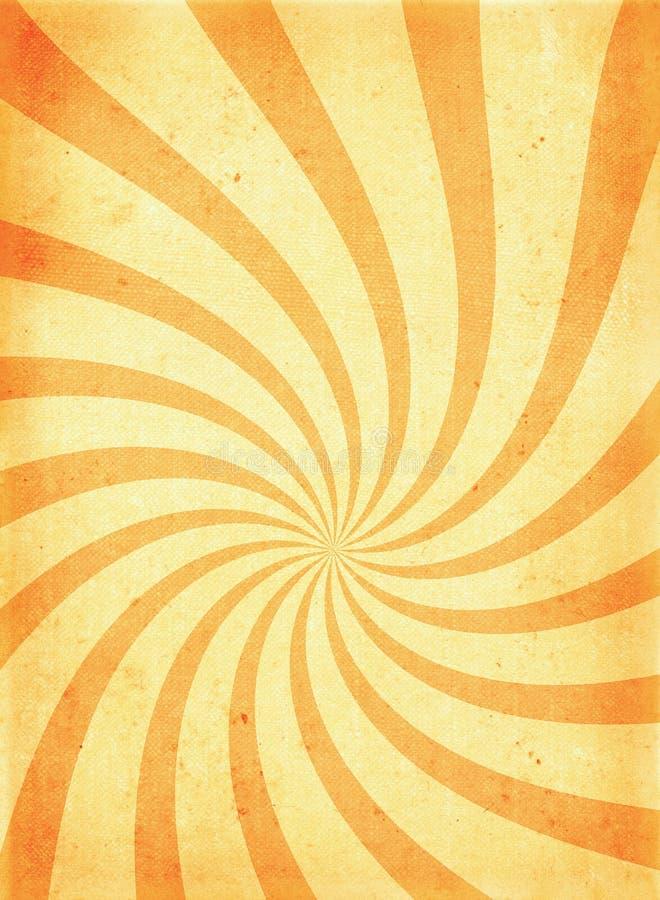 twirl побудительной старой бумаги страницы грубый иллюстрация штока