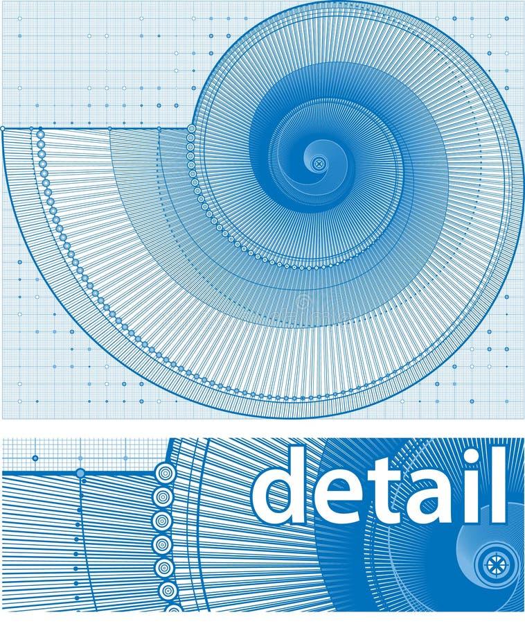 twirl проекта предпосылки бесплатная иллюстрация